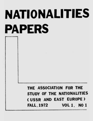 ASSOCIATION FOR THE STUDY OF THE NATIONALITIES